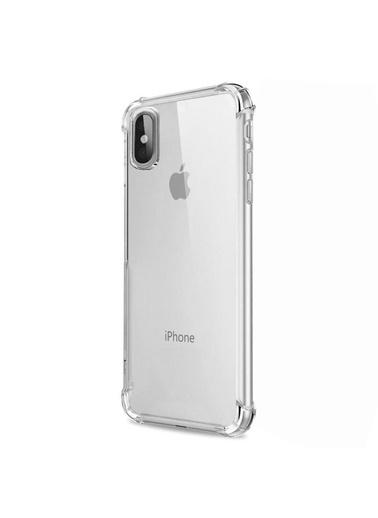 Microsonic Shock-Absorbing Kılıf iPhone XS Max (6.5'')  Renksiz